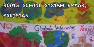 Roots School System Emaar Campus - Save Earth on the Soccer Field
